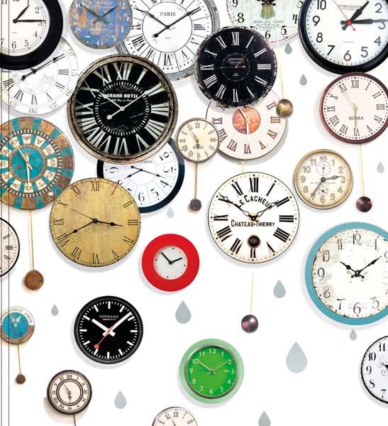 Sehr viele alte Uhren