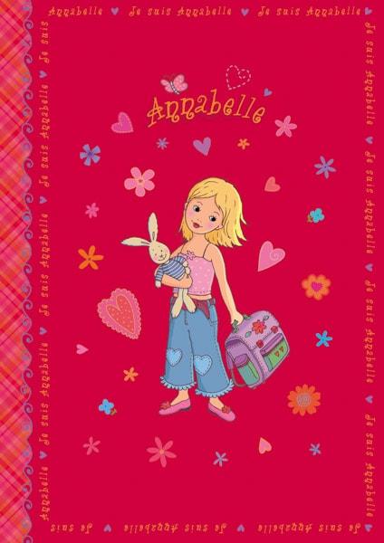 Annabelle - ein kleines Mädchen mit einem Schulranzen