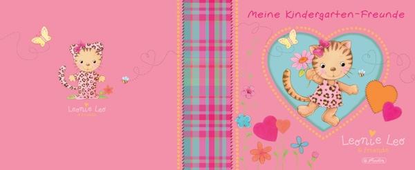 Meine Kindergarten-Freunde Buch mit leonie Leo