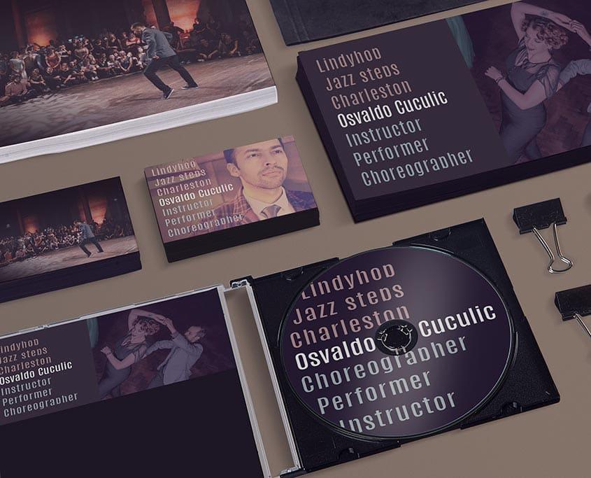 Osvaldo Cuculic - Visitenkarten & Flyer
